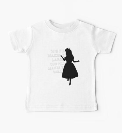 One Pill makes you larger Baby Tee