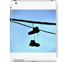 HUNG BOOTS iPad Case/Skin