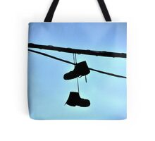 HUNG BOOTS Tote Bag