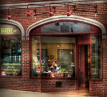 Over at the Bakery by Mike  Savad