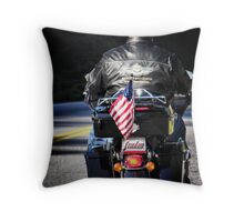 freedom rides Throw Pillow