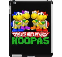 Teenage Mutant Ninja Koopas iPad Case/Skin