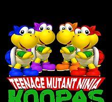 Teenage Mutant Ninja Koopas by AllMadDesigns