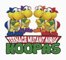 Teenage Mutant Ninja Koopas Baby Tee