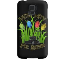 Will mow for rupees Samsung Galaxy Case/Skin