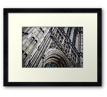 Palace of Westminster Detail Framed Print