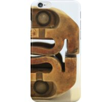 Cats Eyes Space Invader iPhone Case/Skin