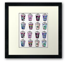 Starbucks with flavor Framed Print