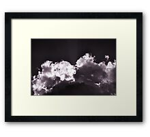 Purple Clouds Framed Print