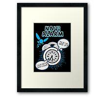 Navi Alarm Framed Print