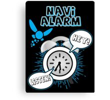 Navi Alarm Canvas Print