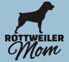 Rottweiler Mom Kids Tee