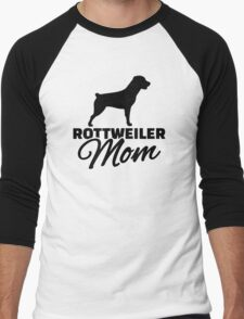 Rottweiler Mom Men's Baseball ¾ T-Shirt