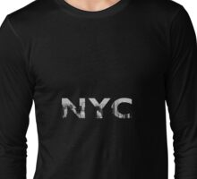 N Y C  Long Sleeve T-Shirt