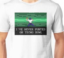 Tecmo Bowl I've Never Punted Unisex T-Shirt