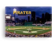 Pirates Ballclub Canvas Print