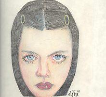 Dark Shiny Lips by Dylan Mazziotti