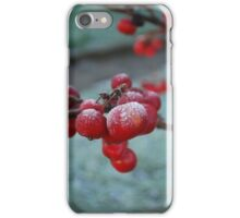 Frozen Red Berry iPhone Case/Skin