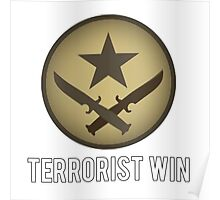 Counter Strike - Terrorist Win Poster