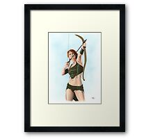 Elven Archer Framed Print