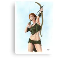 Elven Archer Canvas Print