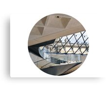Louvre Winding Staircase Canvas Print