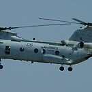 CH-46 Sea Knight by ScottH711