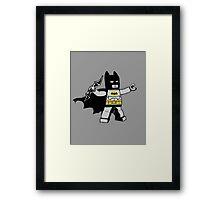 Batsy, batarang Thrower Framed Print