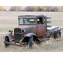 Bonnie's Truck Photographic Print
