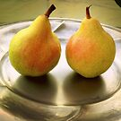 Two pears and nothing else by bubblehex08