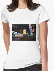 Times Square, NYC Womens Fitted T-Shirt