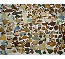 beach pottery Photographic Print