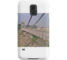 Clifton Suspension Bridge, Bristol Samsung Galaxy Case/Skin