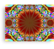 psychedelic chandelier Canvas Print
