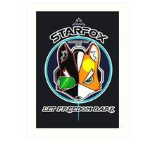 Mercenary Unit: STARFOX Art Print