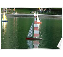 Sailboat Races Poster