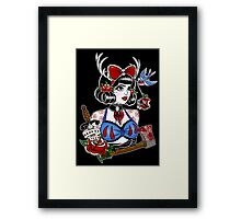 Beauty Fades Framed Print