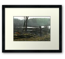 At the First Light Framed Print