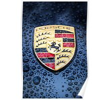 Porsche Badge Poster