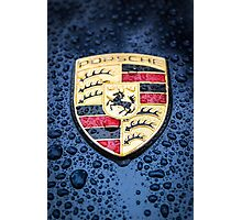 Porsche Badge Photographic Print