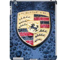 Porsche Badge iPad Case/Skin