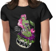 Cupcake Zombie Womens Fitted T-Shirt
