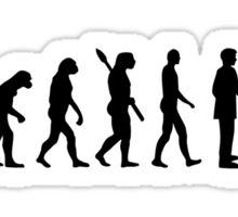 Evolution Dachshund Sticker