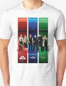 The Cornetto Trilogy. Unisex T-Shirt