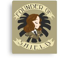 Founder of S.H.I.E.L.D Canvas Print
