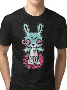 Bunny Eats Brains... Tri-blend T-Shirt