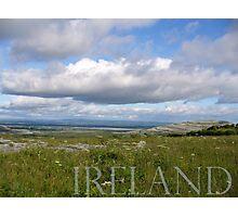 Irish Horizon in the Burren Photographic Print