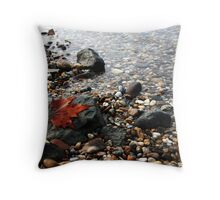Colors of time Throw Pillow