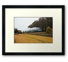 Tangmere at Whiteball  Framed Print