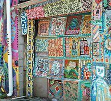 garage door by linda lowry